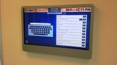 Another OSI Dynamic Digital Framework (DDF) w/ interactive Digital Directory System (iDDS) module running on the simple, yet elegant, URway iCover wl (wall landscape) touch screen enclosure at Glen Lochen Mall in CT. A really sweet deployment! Screen Enclosures, Mall, Touch, Running, Landscape, Elegant, Digital, Simple, Sweet