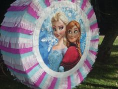 Frozen Birthday Theme, Frozen Theme Party, 3rd Birthday Parties, Birthday Party Decorations, Frozen Pinata, Olaf Pinata, Hello Kitty Pinata, Avengers Birthday, Frozen Princess
