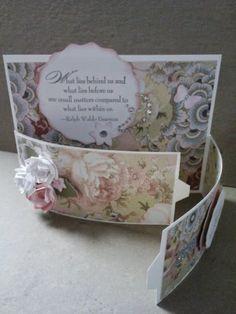 Joyful Creations by Joyce Houck: Bendy fold card