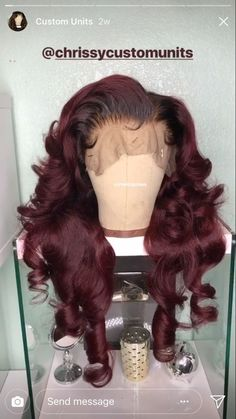 lace wig.