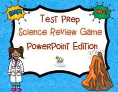 Science Review Test Prep PowerPoint game.  Game was made with 3rd grade standards but the text is editable so you can change the questions if you need to.