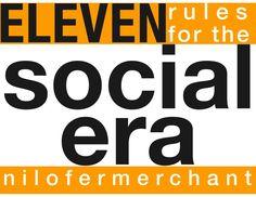 socialerarules by Nilofer Merchant via Slideshare