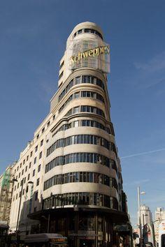 Semana 8. Edificio de Callao. Madrid