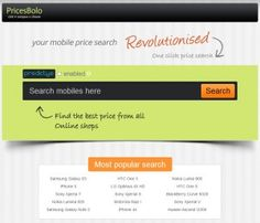 Compare and find the best price from all online shops within seconds
