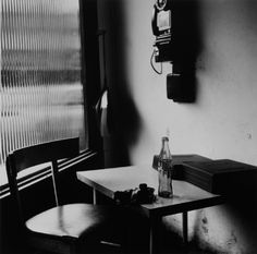 Vivian Maier Winnetka, IL (interior with telephone), 1968