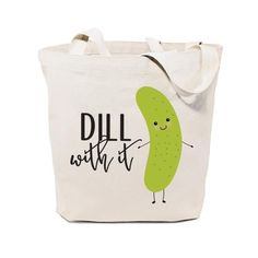 Our 100% cotton canvas tote bags are perfect for everyday use! These beautiful natural canvas shopping bags are great for a quick run to the grocery store or the local farmers market. Silly and unique