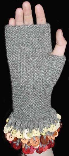 Free Knitting Pattern: Charm Mitts