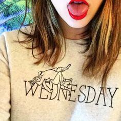 Rachel Antonoff Wednesday Sweatshirt