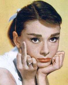 Ha! I love that Audry Hepburn does have some spunk!