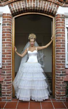 El Mundo de Cielo: Si se trata de vestidos de novia. Luisana Lopilato