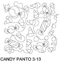 Candy Free Machine Quilting Pattern
