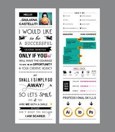 artistic & quirky curriculum vitae