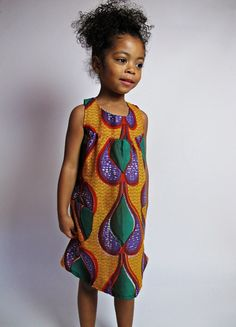Kitenge dress for your baby...
