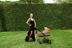 Supermodel Mom Karolina Kurkova Unveils Custom Cybex Stroller Collection — The Hollywood Reporter Bape Kids, Nike Air Max 90s, Kids Line, Campaign Fashion, The Hollywood Reporter, Strike A Pose, Supermodels, Kids Fashion, Poses