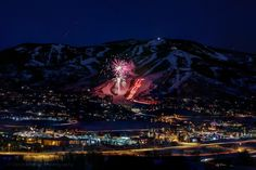 New Years Eve 2017 Steamboat Springs Ski Mountain, Colorado