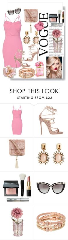 """Vogue"" by sadeta-v ❤ liked on Polyvore featuring WithChic, Dsquared2, Brother Vellies, Oscar de la Renta, Chanel, Bobbi Brown Cosmetics, Anna-Karin Karlsson and Henri Bendel"