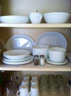 Corelle Winter frost white & Corelle Livingware 76-Piece Dinnerware Set | Home Furnishings/Decor ...