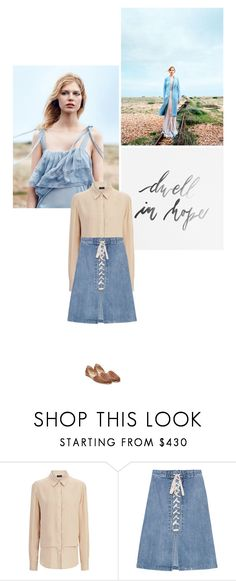"""""""Dwell in hope."""" by bestdressx ❤ liked on Polyvore featuring Joseph, Sea, New York and Steve Madden"""