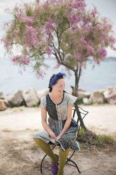"""Frühjahrskollektion 2014 - Emma ist hier im bequemen Kleid """"Primula veris"""" aus…"""