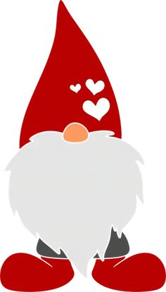 Svg Heaven - Svg File, Arts and Crafts, Design Crafts Christmas Images, Christmas Elf, Christmas Projects, Valentines Card Design, Valentine Crafts, Gnome Pictures, Happy Love Day, Decoupage Printables, Painting Templates