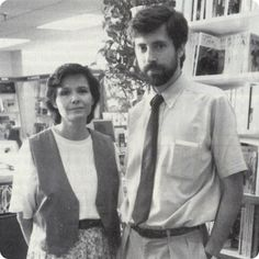 A fond farewell to Holly & Paul McNally, who have retired after over 30 years in the bookselling business.