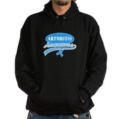 Arthritis Awareness logo Hoodie on CafePress.com