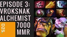 Dota 2 Selections Episode 3: Vroksnak Alchemist 7000 MMR Public Matchmak...