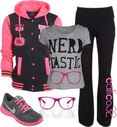 """""""Nerd-tactic!!!"""" by callico32 on Polyvore"""