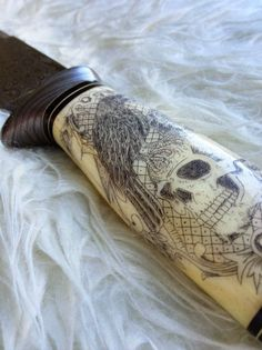 Damascus Steel handmade knife dagger WICKED by DCIllusion on Etsy, $395.00