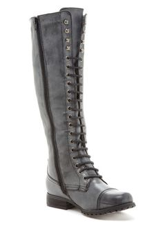 Lace-Up Knee Boots / Bucco $40