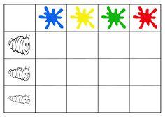 tabel dubbele ingang kleur - dikte A4-formaat