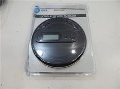 ONN personal/portable CD player with FM radio