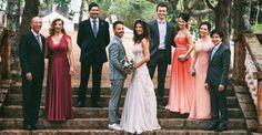 Filho de Xororó e Noely, músico se casa com sua musa em bucólica boda abençoada por Sandy e Lucas