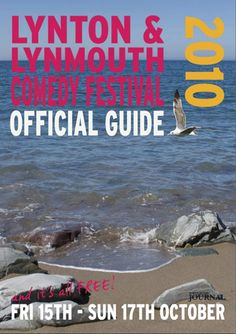 Comedy Festival (event organisation, marketing, design and event delivery) Festival Guide, Comedy Festival, North Devon, Event Organization, Guide Book, Festivals, Delivery, Marketing, Design