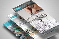 Mobile Application Showcase Mockup on Behance