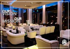 Our Vision - To create the best atmosphere in a cosy place. Our Mission - Giving guests the best coffee and  Lounge experience ever.