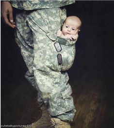 Cutest thing ever...doing this with Remington but in Daddy's turnout gear pants pocket.