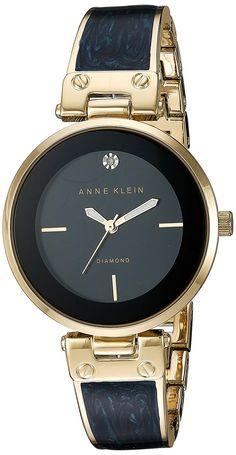 Anne Klein Women s Quartz Metal and Alloy Dress Watch, Color Blue (Model  17a1a5e786d7