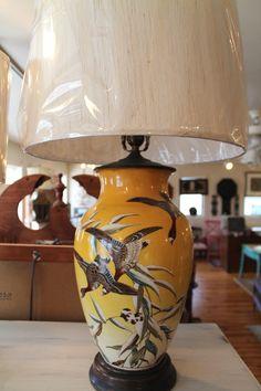 Vintage Lighting at Knots & Weaves #KnotsAndWeaves #VintageLighting #Lamp