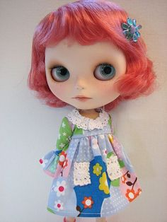lovely doll and great dress