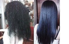Maxliss Keratin treatment: before and after!