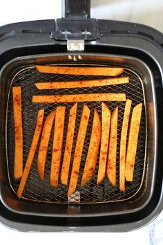 Crispy Air Fryer Sweet Potato Fries | Skinnytaste