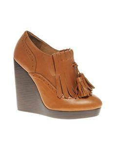 ALDO Eppihimer Tasselled Wedge Shoe Boots