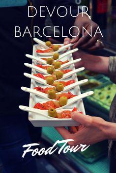 Eat Spanish Cuisine on a Devour Barcelona Food Tour. Barcelona Food, Barcelona Travel, Barcelona 2016, Visit Barcelona, Barcelona Hotels, Barcelona Spain, Ibiza, Spanish Cuisine, Spanish Tapas