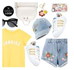 """""""Daily Look"""" by dressedbyrose ❤ liked on Polyvore featuring House of Holland, MANGO, BP., SO, adidas, Orla Kiely, Witchery, Casetify, Dailylook and polyvoreeditorial"""