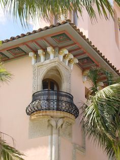Balcony With Rams-head Brackets Above, Mar-a-lago, Palm Beach images ideas from All About Beach Little Palm Island, Florida Mansion, Palm Beach Fl, Atlantic Beach, Beach Images, Beautiful Pools, Mansions For Sale, Expensive Houses, Beach Design