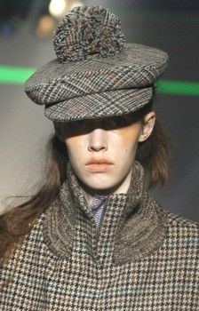 Hats for Vivienne Westwood Gold label Autmn winter 2012 - 2013 - Prudence Millinery