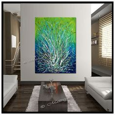 Hey, I found this really awesome Etsy listing at https://www.etsy.com/listing/183181249/large-artwork-blue-painting-abstract-art