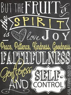 Be the Fruit of the Spirit.....another great canvas by Madi Kay Designs!