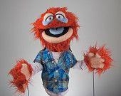 Morty - Original Fuzzhead Puppets Design  My friend handmakes these....so cute!